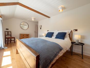 Bedroom 1 with a king double bed