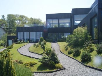 La Villa Quartz, facade mer
