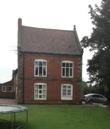 Period 2 Bed Apartment in Staffordshire  - House and garden