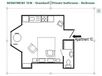 Apartment 10 - Layout