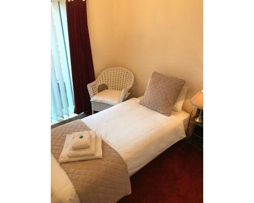 Single room-Comfort-Private Bathroom-Garden View
