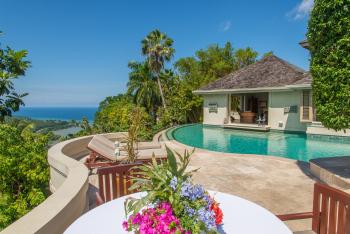 Master Villa Pool Sunbathing Terrace