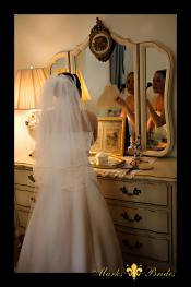 Cobb Lane BB Bride preparing