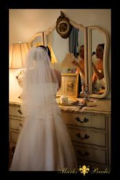 Cobb Lane BB Bride preparing