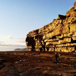 Muckross caves and rocks