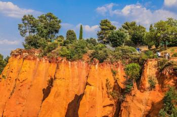 Les ocres à Roussillon