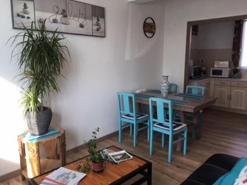 Appartement-Douche-Vue sur Jardin-2-3 pers RDC (AUDRESELLE)