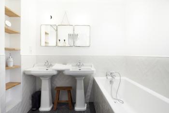 Chambre n°16 _ Salle de bain baignoire