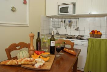Example kitchen of cottage for 4 persons
