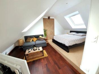 Appartement-Prestige-Salle de bain Privée-Vue ville-Up