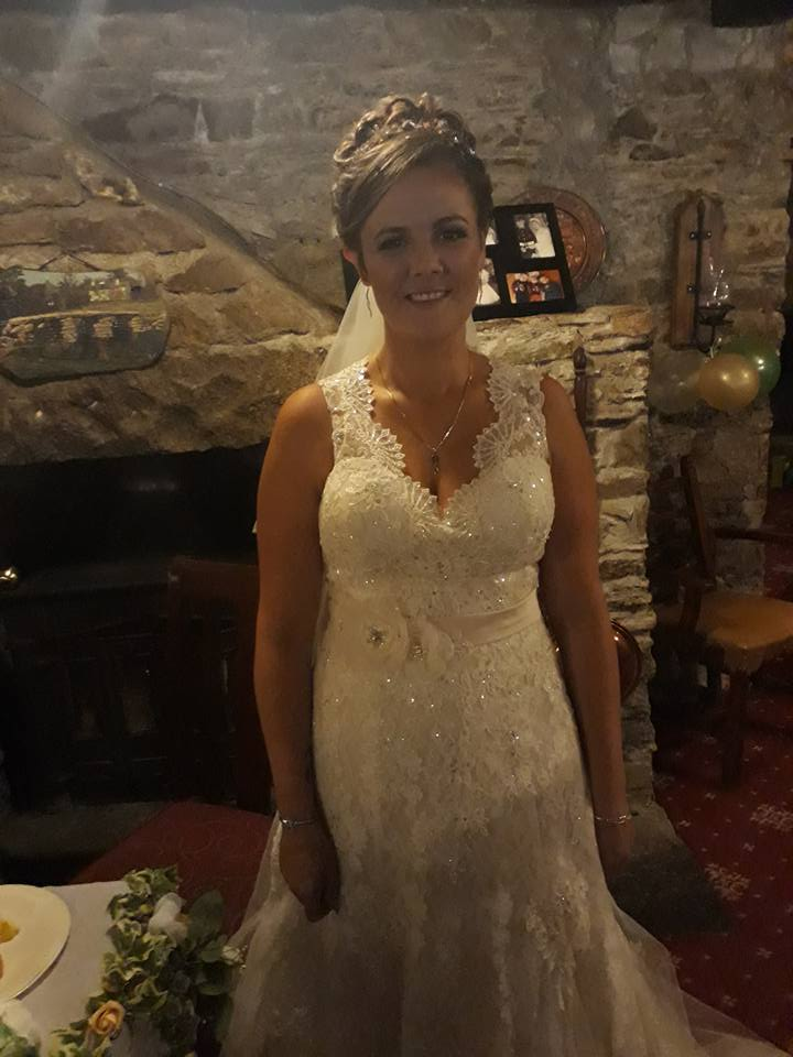 What Emma said about her wedding reception at The Weary Friar Inn: