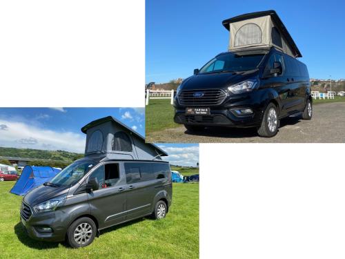 Motor Home-Ford Custom Campervan-None - Base Rate
