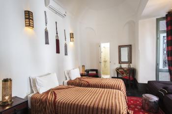 Suite Junior-de Luxe-Salle de bain Privée-santal