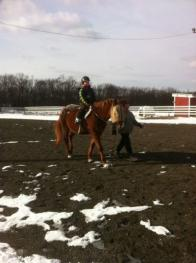 Riding lessons in the spring