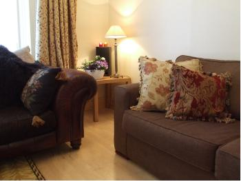 Elmbank downstairs communal sitting room