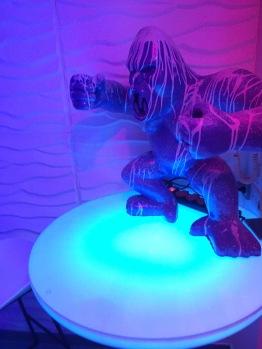 Décoration gorille au bains Lounge
