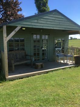Cabin-Basic-Vanity unit-Countryside view-Summer House - Base Rate