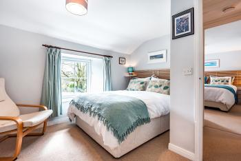Double and Super Kingsize Bedrooms view - The Cottage