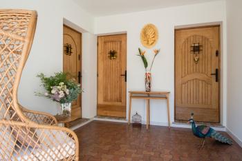 Les 3 Portes de la Bastide Entrée dans le porche