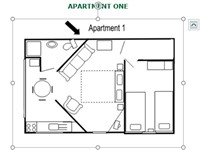 Apartment 1 - Layout