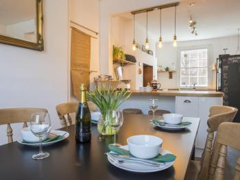 Enjoy our open plan kitchen diner with your friends and family.