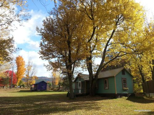 The Wintergreen Cottage & the Purple Cottage in Autumn
