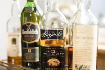 Many Speyside drams to choose from and tutored nosings available to book