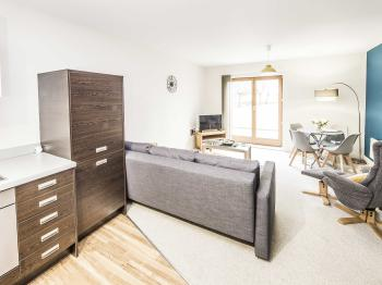 Apartment-Private Bathroom-The Postbox Suite - 2 Bed