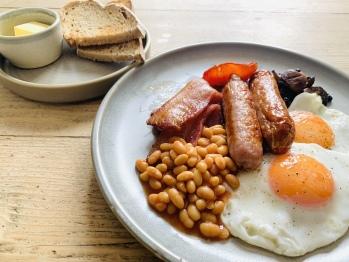 Full Cornish Breakfast - locally sourced