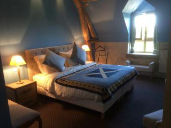 Chambre polo avec son lit double 180x200 ou 2lits simples