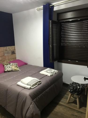 Habitacion Doble-Estándar-Baño con ducha-Vista a la Calle-coqueta