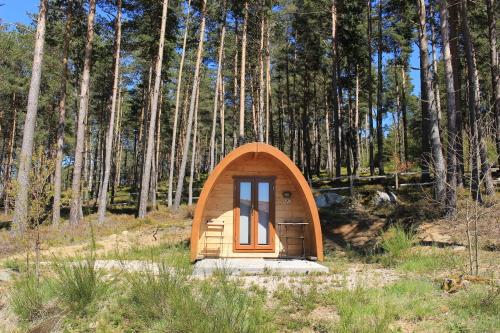 Les Cabanes: 2 personnes -Cabane-de Luxe-Vue sur Lac-Salle de bain partagée