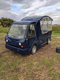 Electric truck to assist disabled guests around the farm