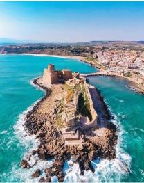 Castello Aragonese dall'alto