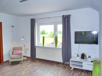 Ferienwohnung-Deluxe-Ensuite Dusche-Blick auf die Landschaft - Standardpreis