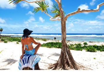 Your own private beach - Papaya Beach