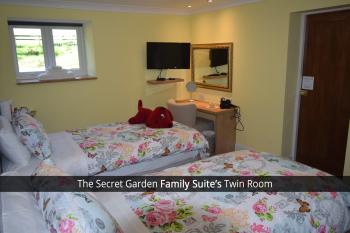 The Secret Garden Family Suite's Twin Room