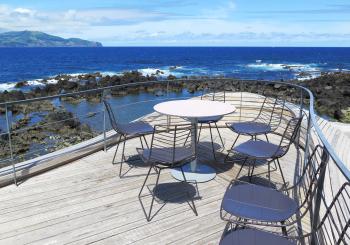Areias da Prainha. Restaurantes Pico 4