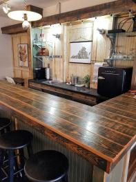 BYOB to the fully equipped Storefront Bar!