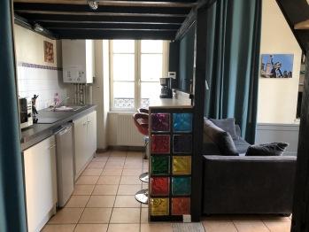 Appartement Le Cadet Roussel Auxerre Les Quais - Kitchenette équipée