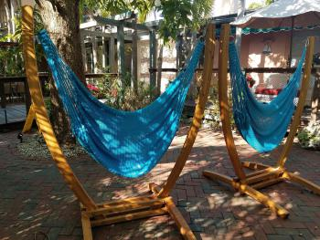 The Comfort of Our Hammock Swings Await Your Visit