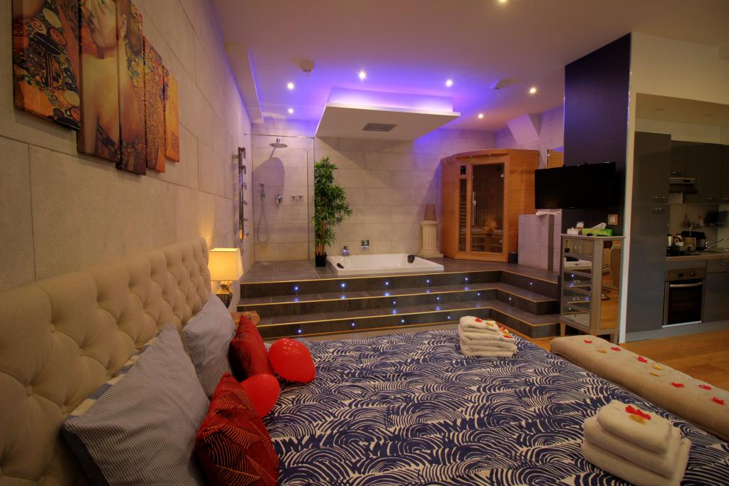 Loft Spa Privatif Dijon Rooms