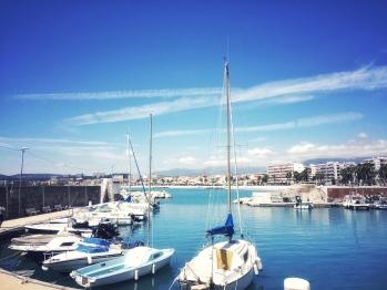⚓️ vue du port du Cros