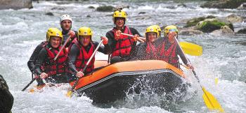 rafting et autres sports d'eaux vives