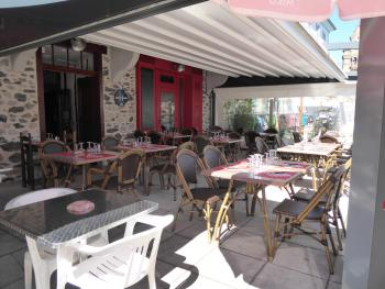 Auberge du haut Salat, Terrasse Restaurant