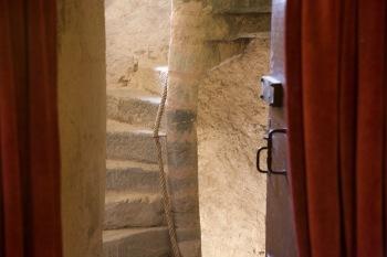 escalier du 13eme siècle