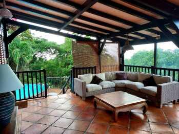 Salon terrasse couverte