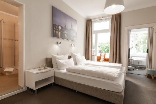 Doppelzimmer-Komfort-Eigenes Badezimmer-Balkon - Doppelzimmer-Komfort-Eigenes Badezimmer-Balkon