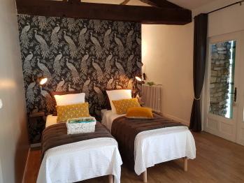 Chambre Générosité lits simples