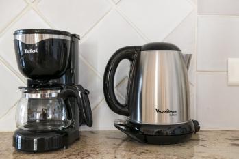 Bouilloire et machine à café